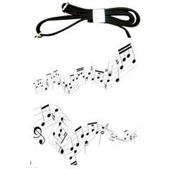 Music Note Song Black White Shoulder Sling Bags