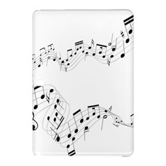 Music Note Song Black White Samsung Galaxy Tab Pro 12.2 Hardshell Case
