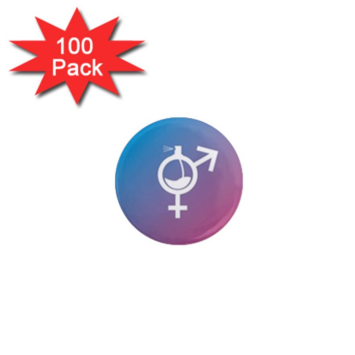 Perfume Graphic Man Women Purple Pink Sign Spray 1  Mini Magnets (100 pack)