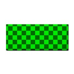 Plaid Flag Green Cosmetic Storage Cases