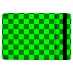 Plaid Flag Green Ipad Air 2 Flip