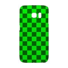 Plaid Flag Green Galaxy S6 Edge