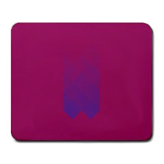 Purple Blue Large Mousepads