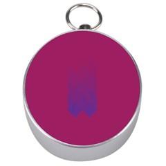 Purple Blue Silver Compasses