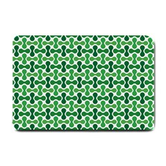Green White Wave Small Doormat