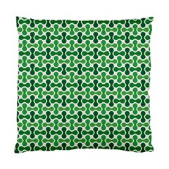 Green White Wave Standard Cushion Case (one Side)