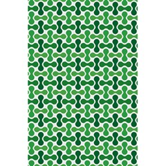 Green White Wave 5.5  x 8.5  Notebooks