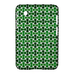Green White Wave Samsung Galaxy Tab 2 (7 ) P3100 Hardshell Case
