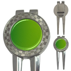 Green Wave Waves Line 3-in-1 Golf Divots