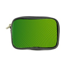 Green Wave Waves Line Coin Purse
