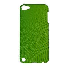 Green Wave Waves Line Apple iPod Touch 5 Hardshell Case