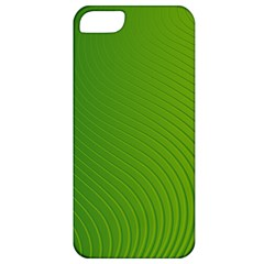 Green Wave Waves Line Apple iPhone 5 Classic Hardshell Case