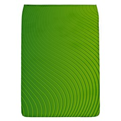 Green Wave Waves Line Flap Covers (L)