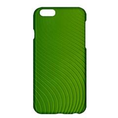 Green Wave Waves Line Apple iPhone 6 Plus/6S Plus Hardshell Case