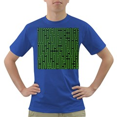 Pipes Green Light Circle Dark T-Shirt