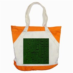 Pipes Green Light Circle Accent Tote Bag