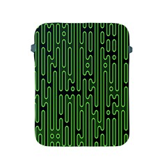 Pipes Green Light Circle Apple iPad 2/3/4 Protective Soft Cases