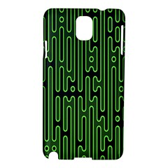 Pipes Green Light Circle Samsung Galaxy Note 3 N9005 Hardshell Case