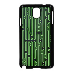 Pipes Green Light Circle Samsung Galaxy Note 3 Neo Hardshell Case (Black)