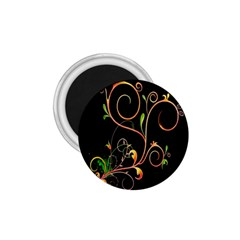 Flowers Neon Color 1.75  Magnets