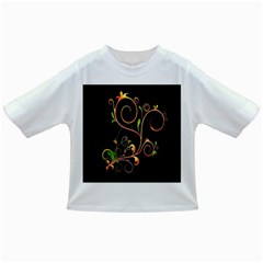 Flowers Neon Color Infant/toddler T Shirts