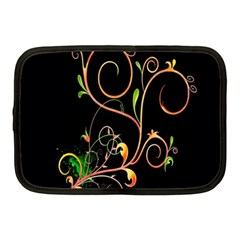 Flowers Neon Color Netbook Case (Medium)