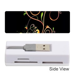 Flowers Neon Color Memory Card Reader (stick)
