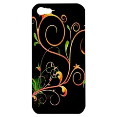 Flowers Neon Color Apple iPhone 5 Hardshell Case