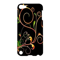Flowers Neon Color Apple iPod Touch 5 Hardshell Case