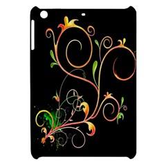 Flowers Neon Color Apple iPad Mini Hardshell Case