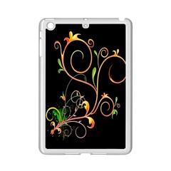Flowers Neon Color iPad Mini 2 Enamel Coated Cases