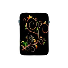 Flowers Neon Color Apple iPad Mini Protective Soft Cases