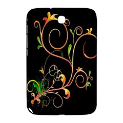 Flowers Neon Color Samsung Galaxy Note 8 0 N5100 Hardshell Case