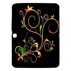 Flowers Neon Color Samsung Galaxy Tab 3 (10.1 ) P5200 Hardshell Case