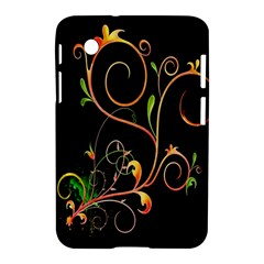 Flowers Neon Color Samsung Galaxy Tab 2 (7 ) P3100 Hardshell Case