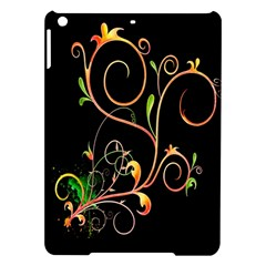 Flowers Neon Color iPad Air Hardshell Cases
