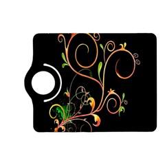 Flowers Neon Color Kindle Fire HD (2013) Flip 360 Case