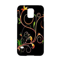 Flowers Neon Color Samsung Galaxy S5 Hardshell Case