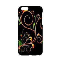 Flowers Neon Color Apple iPhone 6/6S Hardshell Case