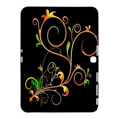 Flowers Neon Color Samsung Galaxy Tab 4 (10 1 ) Hardshell Case