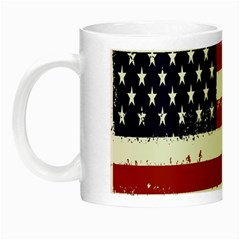 Flag United States United States Of America Stripes Red White Night Luminous Mugs
