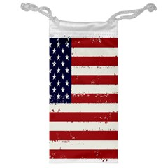 Flag United States United States Of America Stripes Red White Jewelry Bag