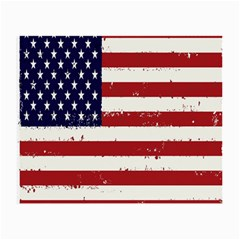 Flag United States United States Of America Stripes Red White Small Glasses Cloth (2-Side)