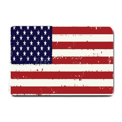 Flag United States United States Of America Stripes Red White Small Doormat