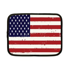 Flag United States United States Of America Stripes Red White Netbook Case (small)
