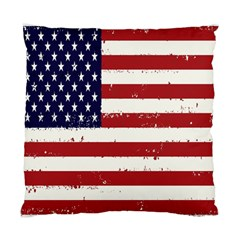 Flag United States United States Of America Stripes Red White Standard Cushion Case (two Sides)