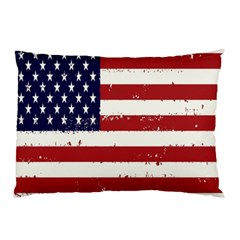Flag United States United States Of America Stripes Red White Pillow Case