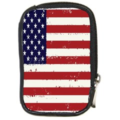 Flag United States United States Of America Stripes Red White Compact Camera Cases