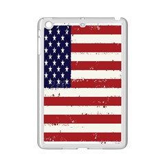 Flag United States United States Of America Stripes Red White iPad Mini 2 Enamel Coated Cases