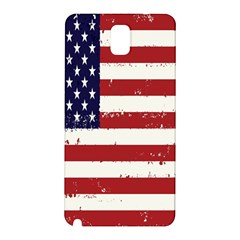 Flag United States United States Of America Stripes Red White Samsung Galaxy Note 3 N9005 Hardshell Back Case